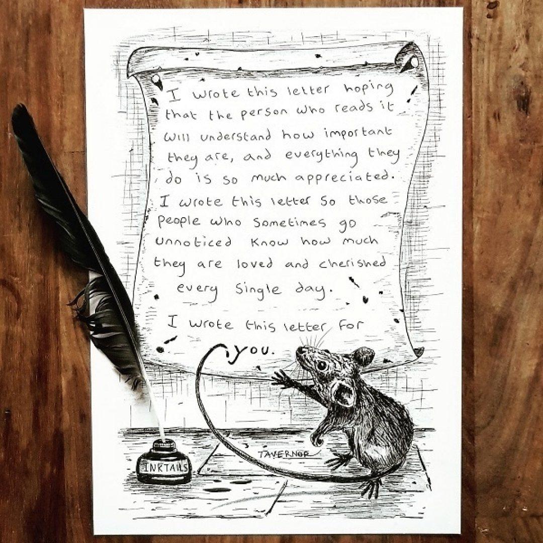 A Letter Paul Tavernor Art