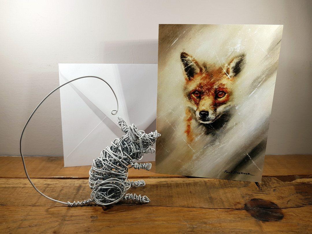 Card Fox Eyes