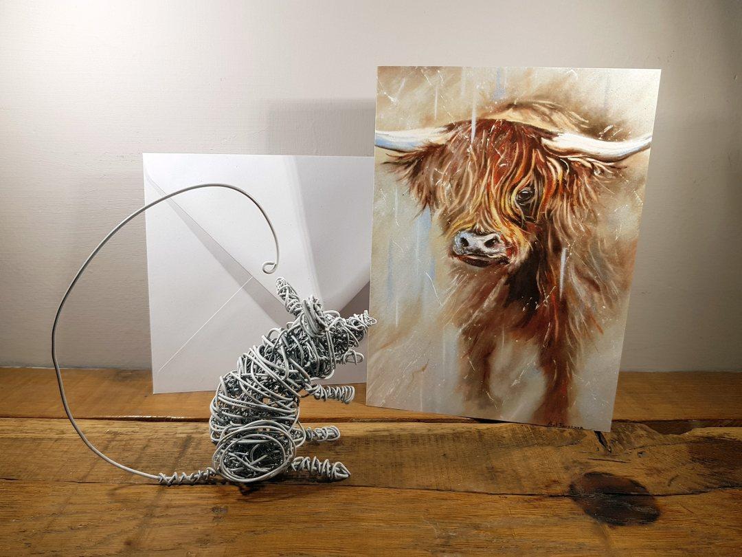 Card Highland Spirit