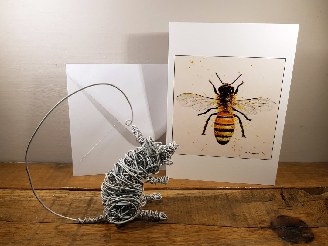 Card The Worker Bee