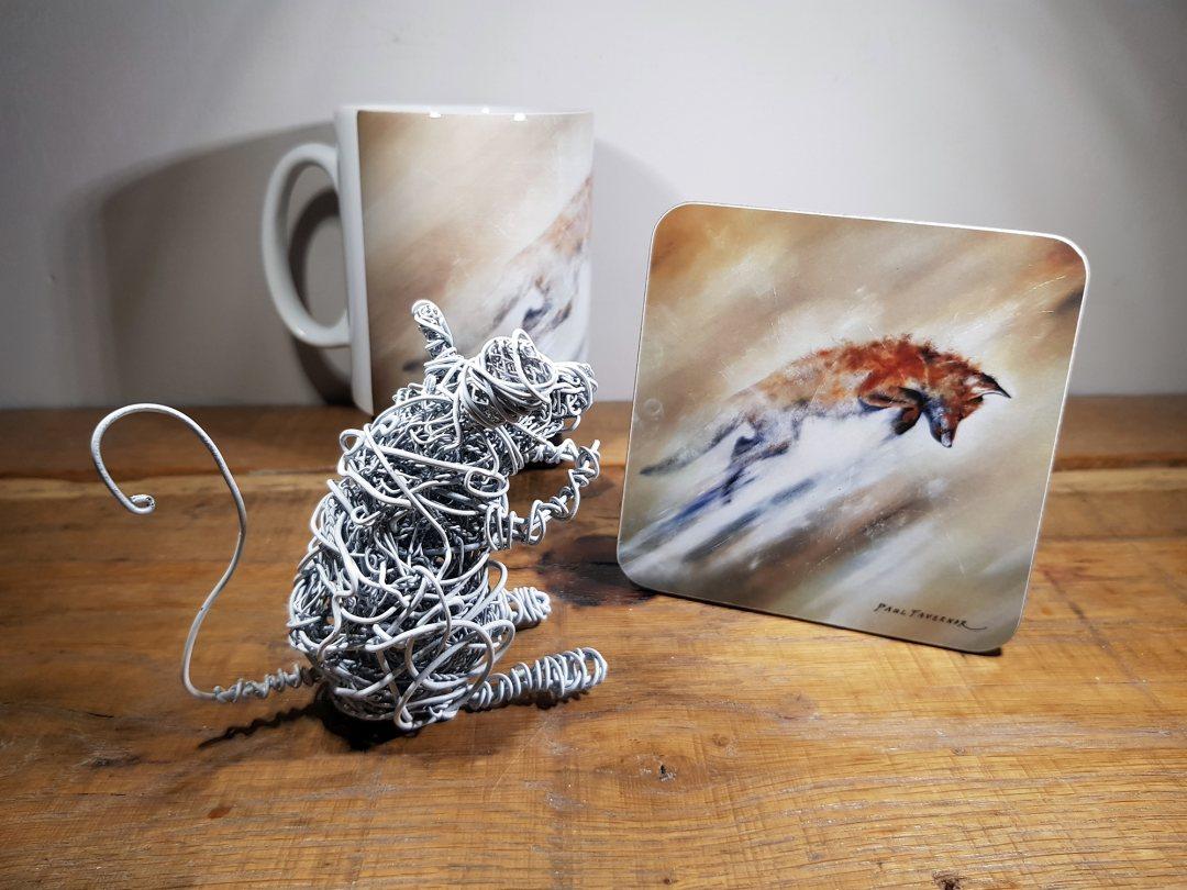 Coaster Leaping fox