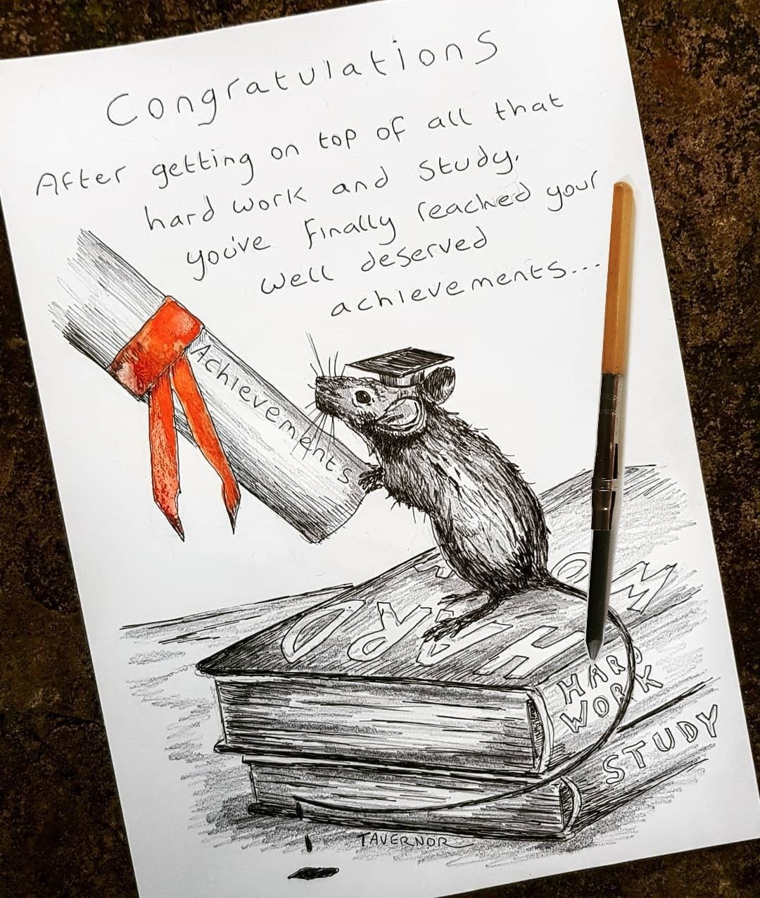 Congratulations Paul Tavernor Mouse