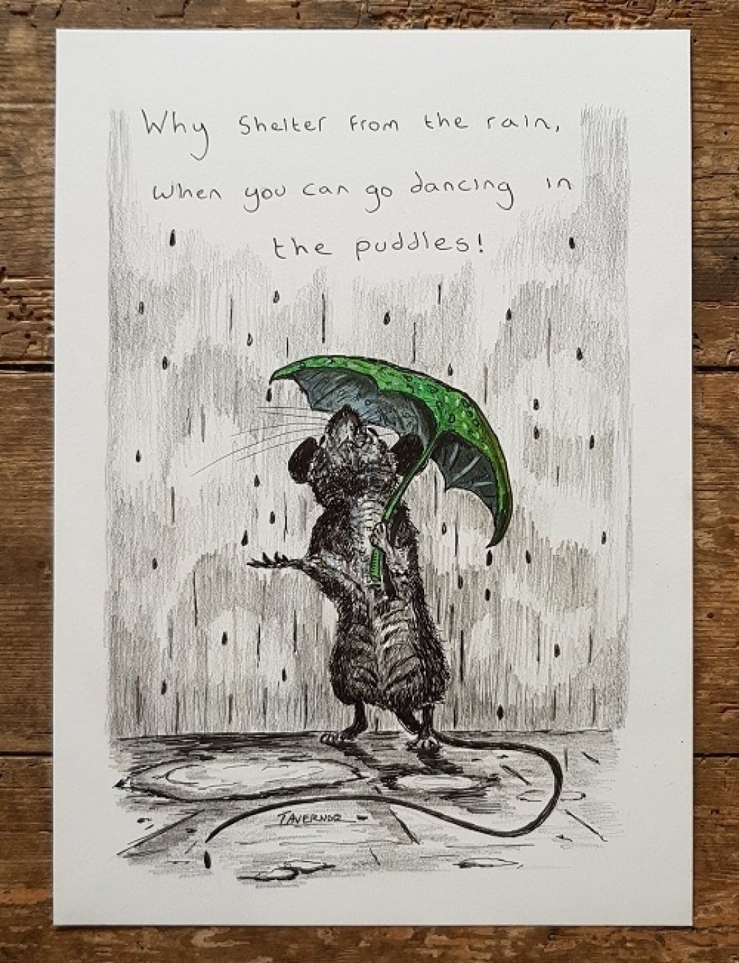 Dancing in the puddles Paul Tavernor Art