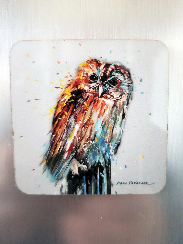 Fridge Magnet Night Owl