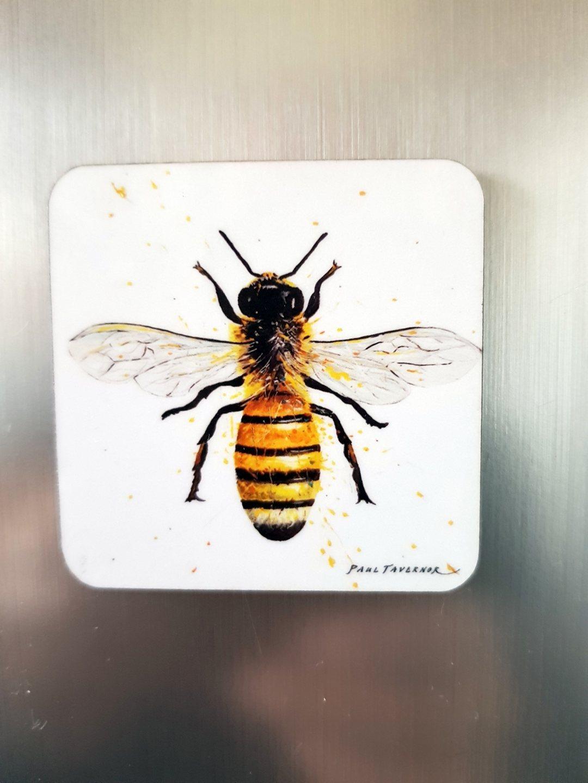 Fridge magnet Worker bee
