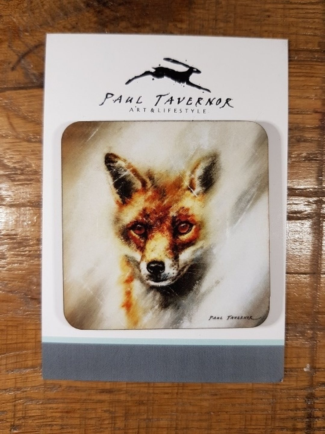 Magnet on Card Fox Eyes