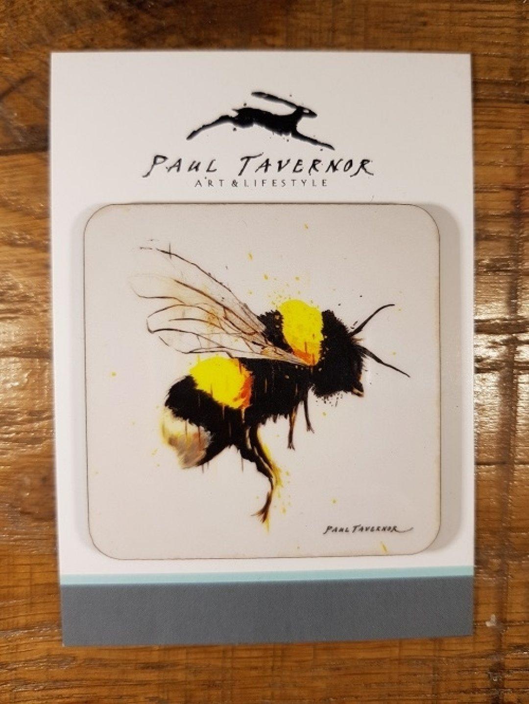 Magnet on Card Honey Flight