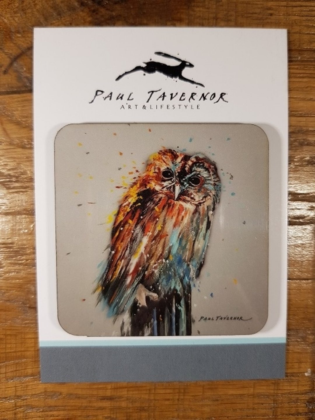 Magnet on Card Night Owl