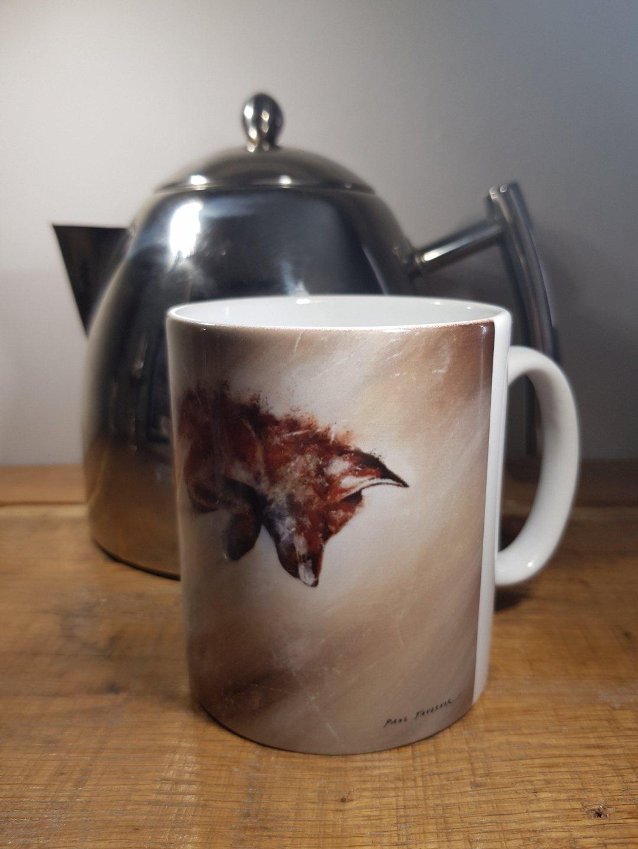 Mug Leaping Fox