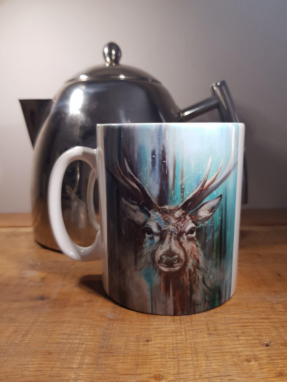 Mug Taking a Stand