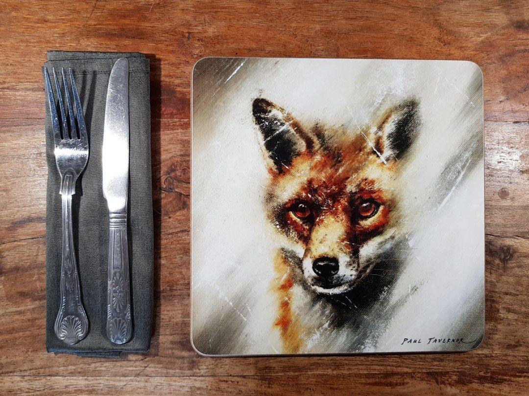 Placemat Fox Eyes