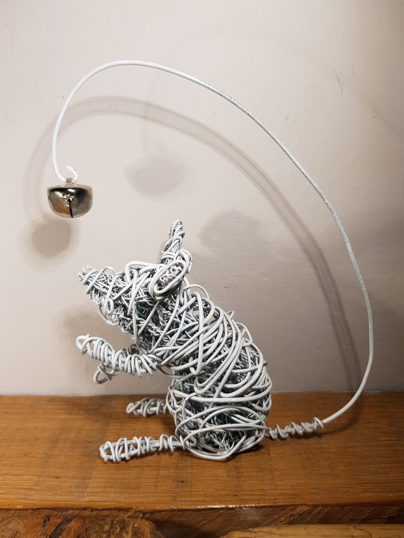 Sculpture Bell Mouse 2