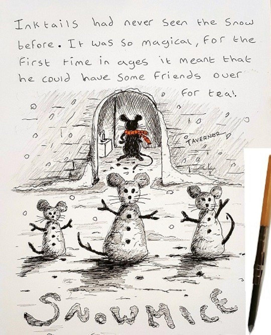 Snowmice Paul Tavernor