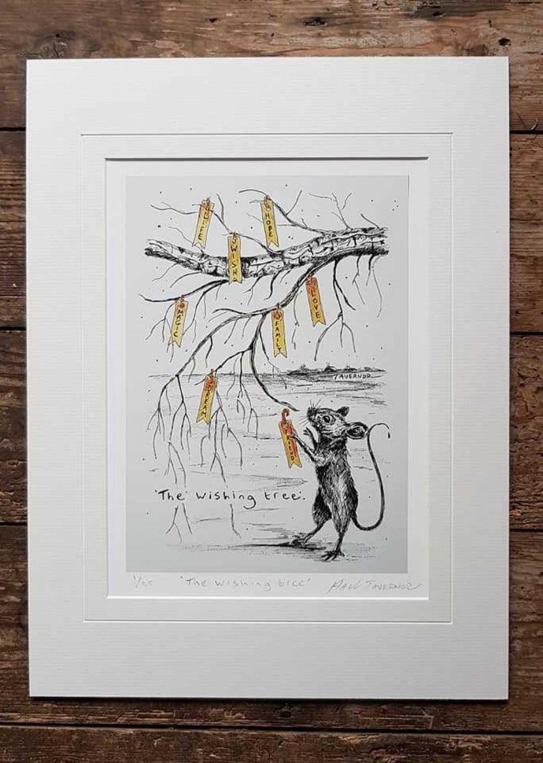 The wishing tree Paul Tavernor Art