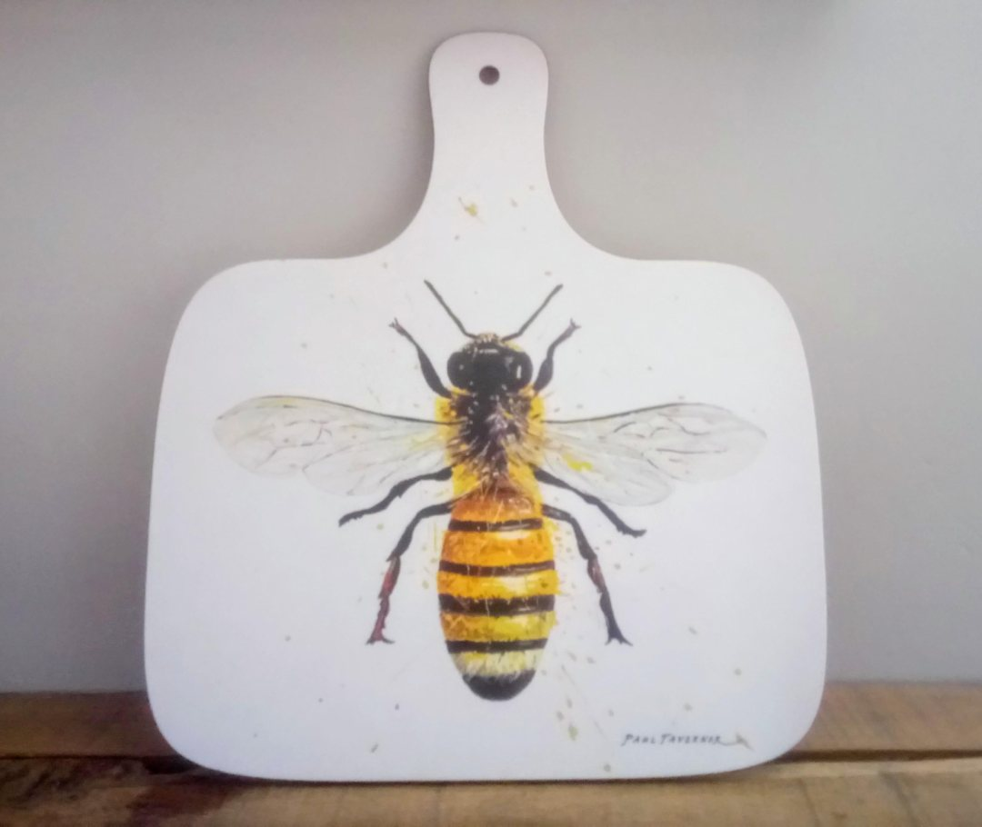 Worker Bee Chopping Board Front