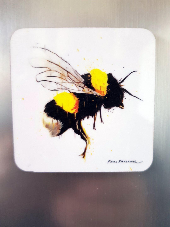 Fridge Magnet Honey Flight