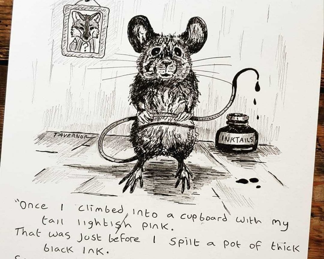 Inktails Mouse from Paul Tavernor