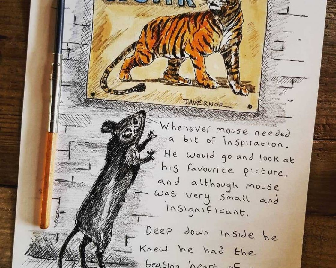 You're a Tiger from Paul Tavernor