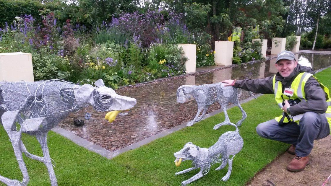 Dog Trust Garden at RHS Hampton Court Place