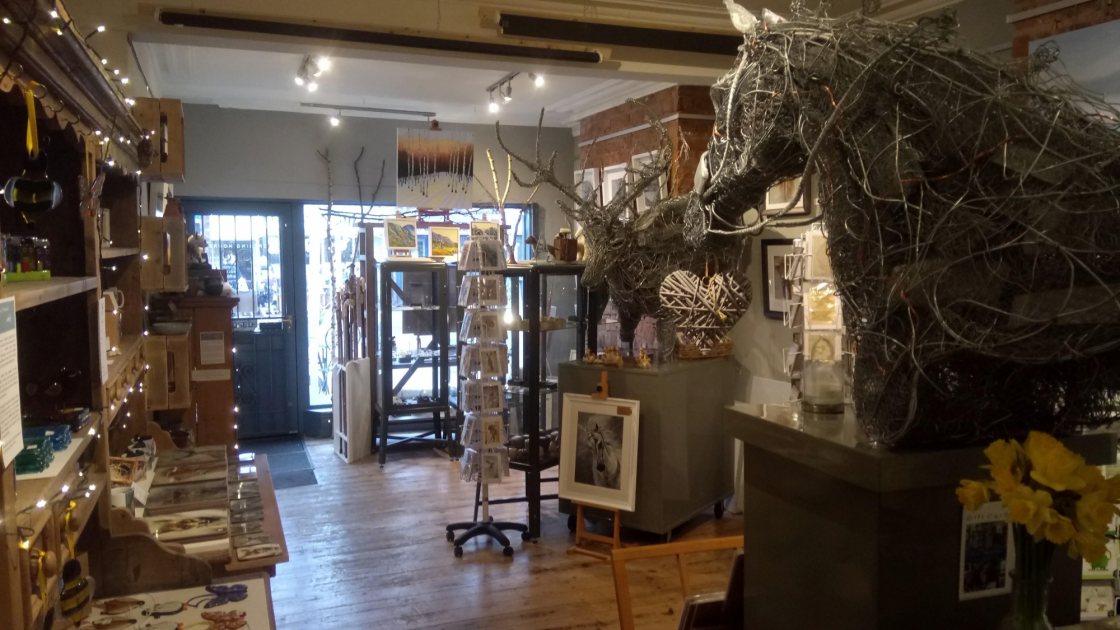 Inside Paul Tavernor Gallery
