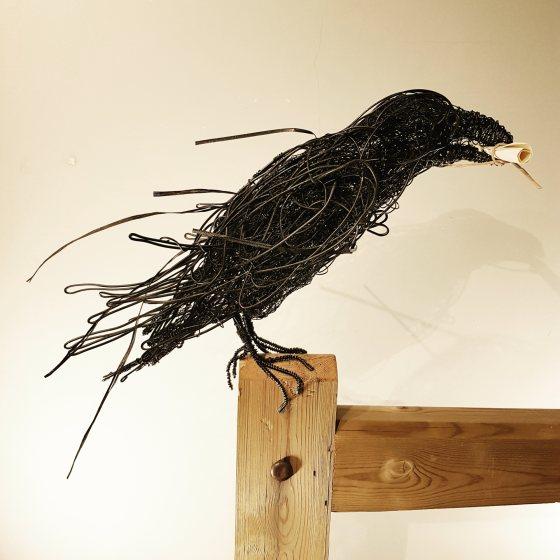 Grip the Raven Sculpture Paul Tavernor