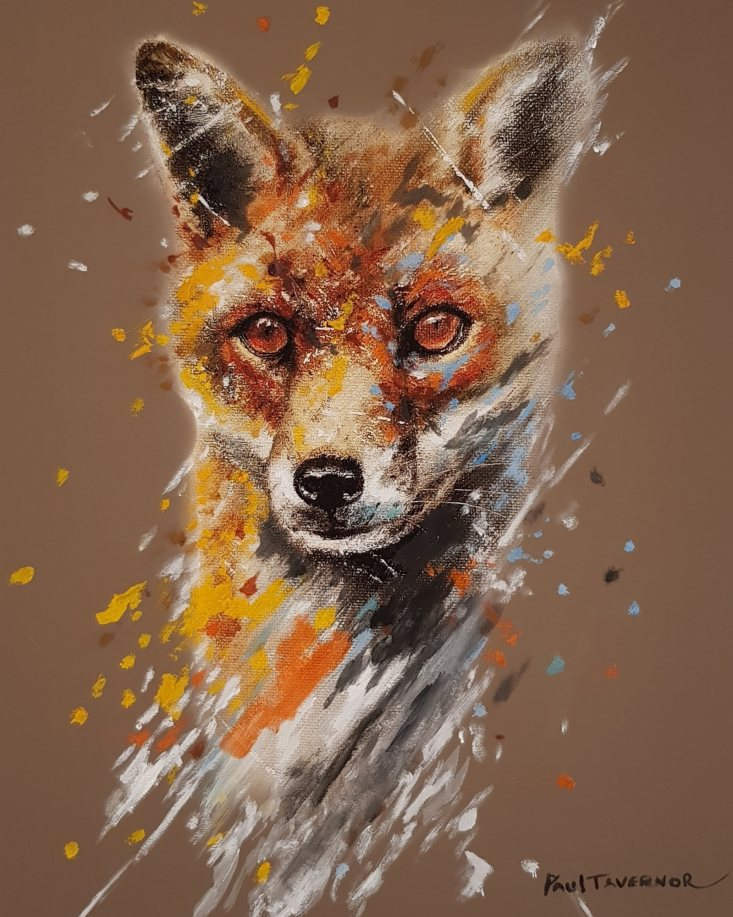 Fox Eyes II by Paul Tavernor